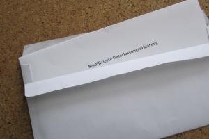 Eine modifizierte Unterlassungserklärung ist bei Filesharing häufig angebracht.